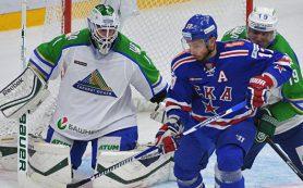 Хет-трик Ковальчука помог СКА разгромить «Салават Юлаев» в матче КХЛ