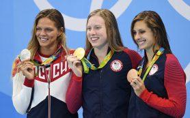 Американская пловчиха Кинг извинилась перед россиянкой Ефимовой