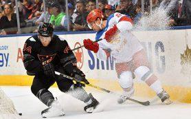 Первая победа: российские хоккеисты одолели Северную Америку на Кубке мира