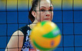 Легенда №11: волейболистка Гамова провела прощальный матч в карьере