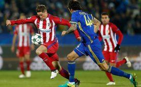 «Ростов» проиграл испанскому «Атлетико» в Лиге чемпионов