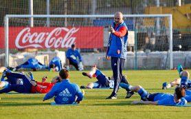 Команда Станислава Черчесова со всей серьезностью готовится к матчу с Коста-Рикой