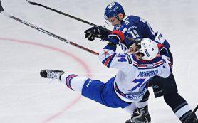 СКА обыграл московское «Динамо», одержав 12-ю победу подряд