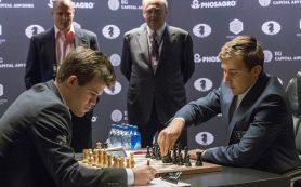 Карлсен не сумел продавить защиту Карякина в пятой партии