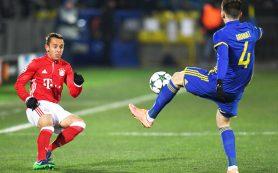 «Ростов» одержал первую победу в Лиге чемпионов, сенсационно обыграв мюнхенскую «Баварию»