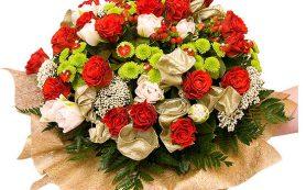 Курьерская доставка подарков и букетов из свежих цветов