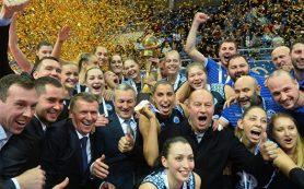 Волейболистки казанского «Динамо» выиграли Кубок России