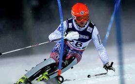 Горнолыжник Хорошилов стал третьим в слаломе на этапе Кубка мира в Австрии