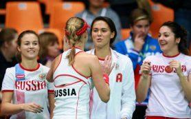 Российские теннисистки сыграют с Бельгией в Кубке Федерации