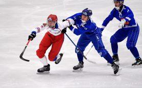 В финале чемпионата мира по бенди сборная России сражалась со шведами