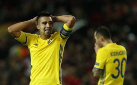 «Ростов» уступил «Манчестер Юнайтед» и завершил выступление в Лиге Европы