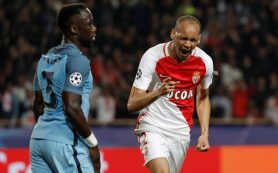 «Монако» отыграл два мяча у «Манчестер Сити» и вышел в четвертьфинал ЛЧ