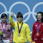 Тяжелоатлетку Царукаеву лишили серебряной медали Игр в Лондоне