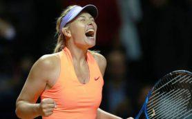 Шарапова поднялась на 47 позиций в рейтинге WTA