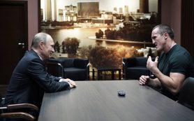 Путин поздравил боксера Лебедева с защитой титула чемпиона мира WBA