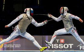 Рапирист Жеребченко завоевал золото чемпионата мира по фехтованию