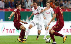 «Локомотив» вырвал ничью с «Рубином» и догнал «Зенит» в таблице РФПЛ