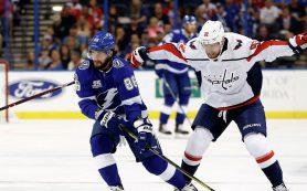 Два очка Кучерова помогли «Тампе Бэй» победить «Вашингтон» в матче НХЛ