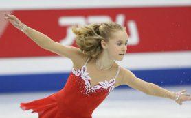 Перешедшая тренироваться к Плющенко фигуристка Саханович выступит на турнире в Минске