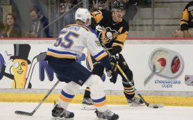 «Питтсбург» Малкина проиграл «Сент-Луису» на старте нового сезона НХЛ