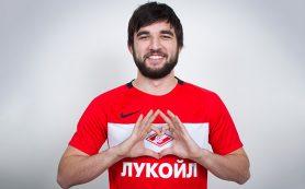 Защитник «Спартака» Джикия продлил контракт с клубом