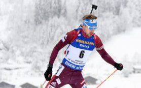 Шипулин выиграл «бронзу» в гонке преследования на этапе Кубка мира