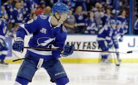 НХЛ назвала Наместникова второй звездой матча с «Колорадо»