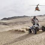 """Гонщик Карякин заявил, что пытался продолжить гонку на """"Дакаре"""" с переломом"""
