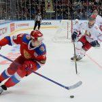 Сборная России по хоккею обыграла команду Беларуси