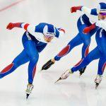 """Российские конькобежки выиграли """"серебро"""" в гонке преследования на ЧЕ"""
