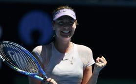 Шарапова победила Севастову и вышла в третий раунд Australian Open