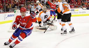 Хоккеисты Вашингтона «Вашингтон» обыграл «Филадельфию» в матче НХЛ