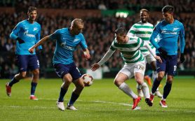 «Зенит» проиграл в Шотландии «Селтику»