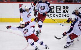 «Коламбус» победил «Вашингтон» в плей-офф НХЛ благодаря шайбе Панарина
