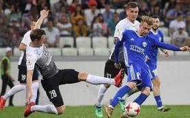 «Тосно» впервые в истории стал обладателем Кубка России