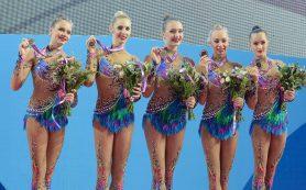 Сборная России по художественной гимнастике завоевала 5 медалей в Израиле