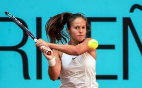 Российская теннисистка Дарья Касаткина одержала вторую победу на грунтовых кортах в Риме