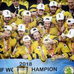 Сборная Швеции защитила титул чемпиона мира по хоккею