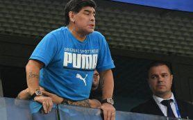 Марадона рассказал, что с ним случилось на матче Нигерия — Аргентина
