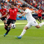 Уругвай обыграл Египет во втором матче чемпионата мира