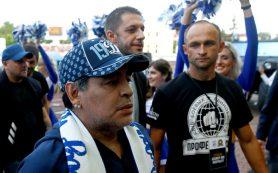 Бресткое «Динамо» проиграло «Шахтеру» на глазах у Марадоны