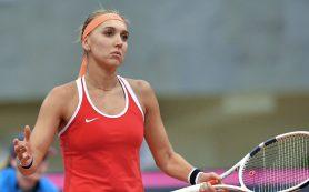Елена Веснина из-за травмы снялась с Открытого чемпионата США