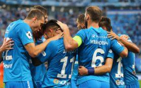 «Зенит» одержал четвертую победу подряд в Премьер-лиге
