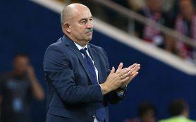 Черчесов остался доволен настроем сборной в матче против Чехии
