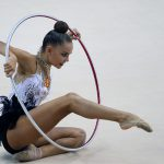 Дина Аверина завоевала золото чемпионата мира в упражнениях с обручем