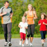 В спортивной семье здоровые дети