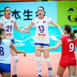 Волейболистки сборной России не смогли выиграть медали чемпионата мира