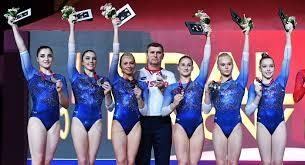 Российские гимнастки отобрались на Олимпиаду-2020