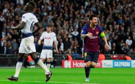 Дубль Месси принес «Барселоне» победу над «Тоттенхэмом»