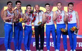 Российские гимнасты получили «серебро» ЧМ и путевки на Олимпиаду